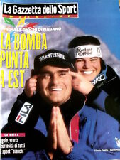 Gazzetta dello Sport Magazine 6 1998 Alberto Tomba Bjorn Daehlie Katja Seizinger