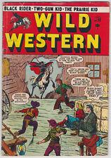 Wild Western #12 G+ 2.5 Black Rider Two-Gun Kid Joe Maneely Art!