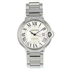 Cartier Stainless Steel Band Women's Adult Wristwatches