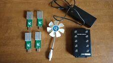 Gekko Science newpac sha256 USB Stick Bitcoin Miner 20 - 45 GH/s