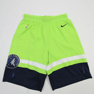 Minnesota Timberwolves Nike NBA Authentics Game Shorts Men's New without Tags
