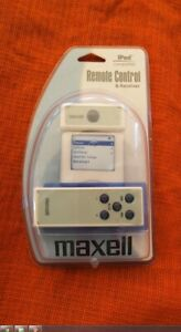 iPod Remote Control and Receiver Maxell P-1 P1 3G or 4G iPod Photo or iPod mini