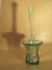 COCA COLA - LONG NECK ATOM BLOWN GLASS COKE BOTTLE - JAPAN - JAPANESE - RARE