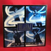 "THE ALARM Rain In The Summertime 1987 UK 4-track 12"" vinyl single EXCELLENT COND"
