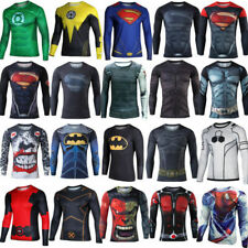 Marvel Super-Hero camiseta de deportiva de manga larga camiseta inferior cálida