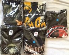 Men's Lot Of 5 Band T-shirts Size: XL/ New