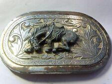 Vintage Bucking Bronco Belt Buckle