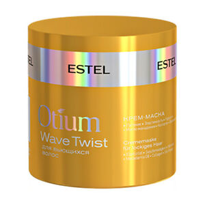 ESTEL Professional Hair Care Cream Mask for Curly Hair OTIUM WAVE TWIST 300 ml