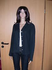 VETONO Be Natural Damen Leinen Bluse schwarz Grösse S Neu