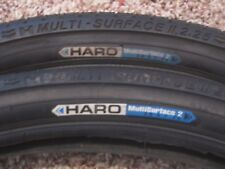TWO DURO 20X1.95 BMX BICYCLE TIRES BLUEWALLS FREESTYLE GT HARO 2