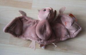 Ty Beanie Babies - Batty - Fledermaus Bat - unbespielt