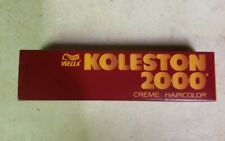 Wella Koleston 2000 Creme Haircolor #542A, Medium Ash Blonde 1.5oz