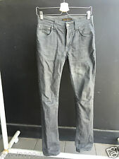 "Nudie Jeans Thin Finn ""Dry Grey Coated"" W28 L32"