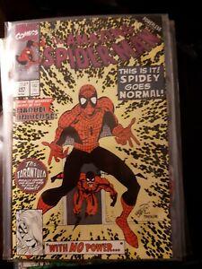 Marvel Comic The Amazing Spider-Man #341  Powerless part 1 Erik Larsen Art Vfn+