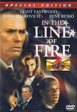 Drama - In The Line Of Fire (DVD, 2000) (Bilingual) Thriller Clint Eastwood NEW