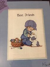 New Designs For The Needle 5558 Best Friends Boy Dog Blue Kinka Collection