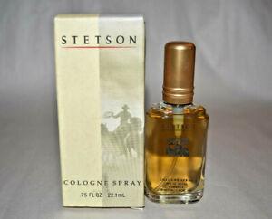 NIB Stetson Coty Cologne spray .75 oz
