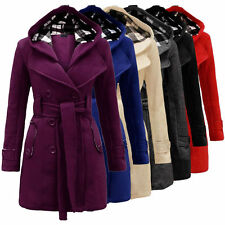 Unbranded Cotton Blend Hip Length Coats & Jackets for Women