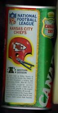 1976 Canada Dry Ginger Ale Soda Pop Can Football NFL League Kansas City Chiefs