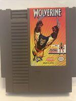 Wolverine Nintendo Entertainment System 1991 NES Tested Work X-Men Marvel Comic
