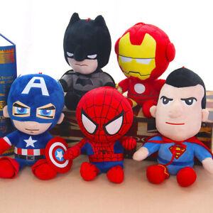 28cm Spiderman Plush Toy Marvel Avengers Stuffed Doll Hero Kids Birthday Gift AU