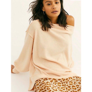 Free People We the Free Main Squeeze Hacci Slouchy Top Medium