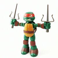 """~ Viacom 2014 ~ Teenage Mutant Ninja Turtles 9"""" Stretch N Shout Raphael Figure ~"""