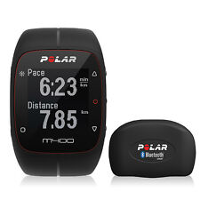 Polar M400 Fitness Watch With GPS And Heart Rate Monitor (Black)