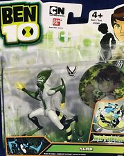 """New - XLR8 - 4"""" Ben 10 HAYWIRE Action Figure with LENTICULAR CARD & MASK Bandai"""