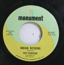 50'S & 60'S 45 Roy Orbinson - Indian Wedding / I'S Over On Monument