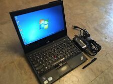 Lenovo ThinkPad X230 Tablet 500GB 8GB Core i5 2.6GHz Touch windows 7 IPS Office
