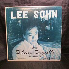 Lee Sohn At The Place Pigalle Live Vinyl LP Autographed Jacket Monoaural LP 1001