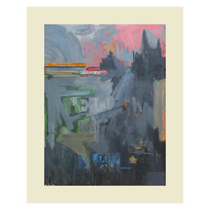 Passage, c.1962 by Jasper Johns (80 x 60 cm) poster print - ONLY £5