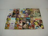 Lot of 12 Annie's Pattern Club Crochet Newsletter Magazines 2003 to 2006