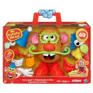 Mr Potato Head Hasbro Mr. B-Day party Spud 20 Toy pieces