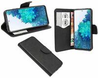 Book-Style Handy Hülle Tasche Zubehör Schwarz für Samsung Galaxy S20 FE (G780F)