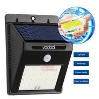 20 LED Solar Infrared Sensor Garden Security Lamp Outdoor Waterproof Wall Light