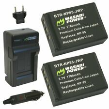 Wasabi Power Battery (2-Pack) and Charger for Toshiba PA3985 and Toshiba