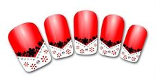 3D Nail Art Sticker Decals Transfer Stickers French Tip Design (3D809)