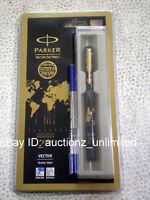 Parker Vector Special Edition GT Roller Ball Pen Ballpen Time Check -New Sealed