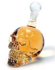 330 ML Bottle Skull Head Vodka Whiskey Shot Glass Bottle Drinking Bar Decanter
