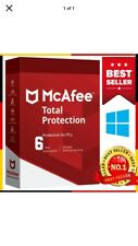 🔥McAfee Total Protection 2020 Antivirus 1 PC 6 Years🔥Fast Delivery 🔑
