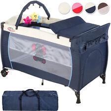 Lit bébé pliant parapluie avec accessoires lit de voyage réglable