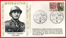 1986-FDC 1°Jour-Hommage à la Résistance-Colonel Fabien-Clermond-ferrand-Yv.1410