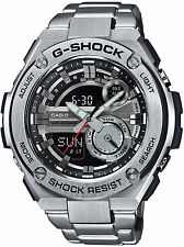 Casio G-SHOCK GST210D-1A G-Steel Layer Guard Stainless Steel 200m Men's Watch