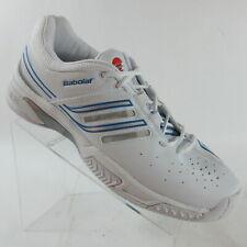 Babolat Performance VK Drive Tennis All Court Shoes White Blue Men's Size 13