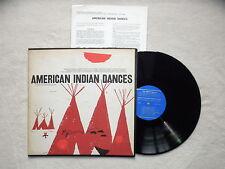 "LP AMERICAN INDIAN ""American indian dances"" FOLKWAYS FD 6510 USA µ"