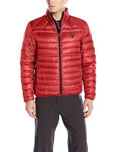 *Spyder Men's Prymo Jacket Med Red/Black NWT