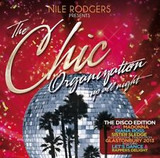 NILE RODGERS Chic Organisation CD NEW Le Freak Upside Down Good Times