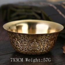 Tibet Tibetan Buddhist Mikky Offering Water Bowl Cup Divine Focus Ritual Vessel